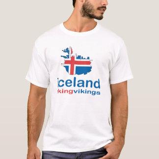 Camiseta Islandia que tiene gusto de vikingos