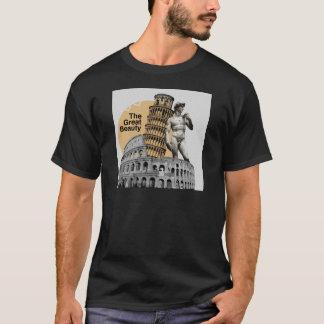 Camiseta Italia, la gran belleza