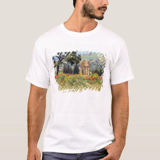 Camiseta Italia, Sicilia, Agrigento. Las ruinas del