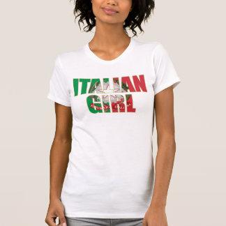 Camiseta italiana del chica
