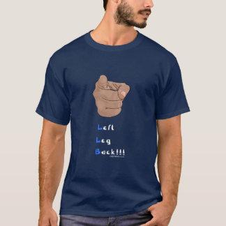 Camiseta izquierda de la marina de guerra de la
