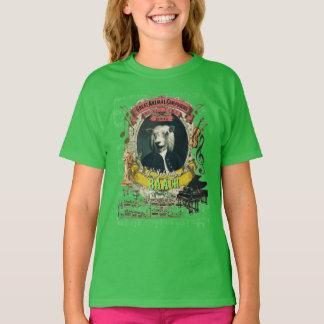 Camiseta J.S. Parodia animal de Bach del compositor de las