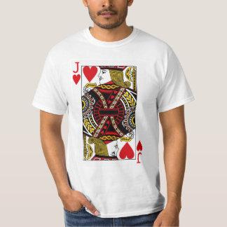 Camiseta Jack del naipe de los corazones