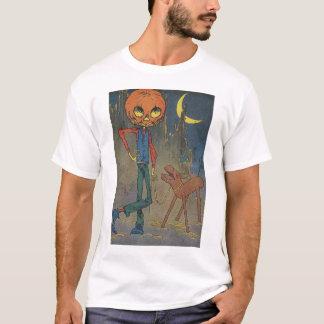 Camiseta Jack Pumpkinhead y el burro
