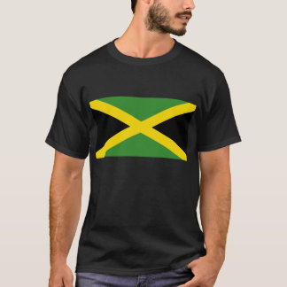 Camiseta jamaicana de la bandera