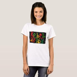 Camiseta jamaicana fresca, hippie, meditación