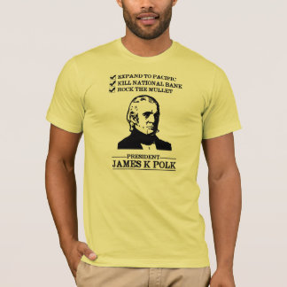 Camiseta James K Polk