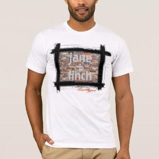 Camiseta Jane y pinzón (ladrillo)