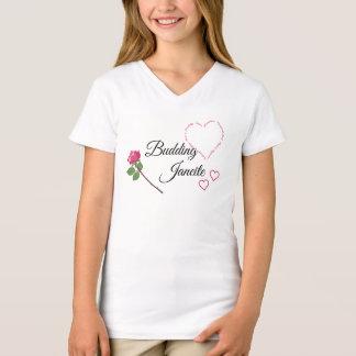 Camiseta Janeite de florecimiento