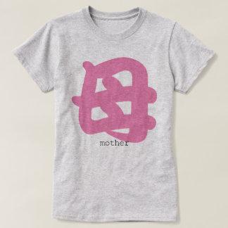 camiseta japonesa de la madre del kanji