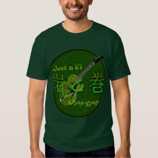 Camiseta japonesa de la roca y del rollo