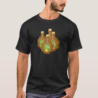 Camiseta Jarabe del abedul de la comida de la interferencia