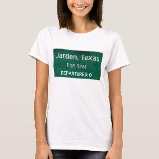 Camiseta Jarden, señal de tráfico de Tejas
