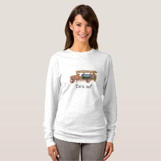 Camiseta Jeepney - ciudad de Denver y montañas rocosas
