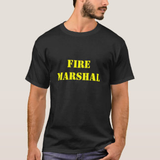 Camiseta Jefe de bomberos