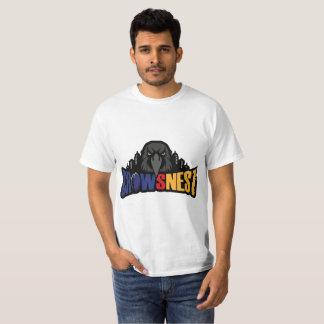 Camiseta Jerarquía de cuervos para hombre blanca de la