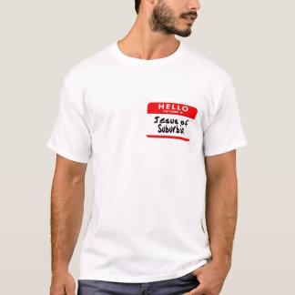 Camiseta Jesús de las áreas residenciales