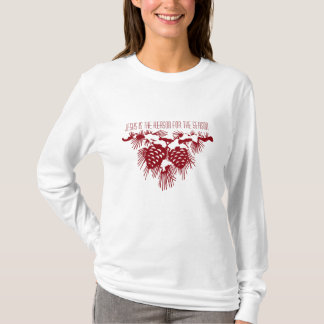 Camiseta Jesús es razón de la cita del navidad de la