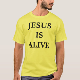 CAMISETA JESÚS ESTÁ VIVO