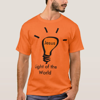 Camiseta Jesús - Light of World the