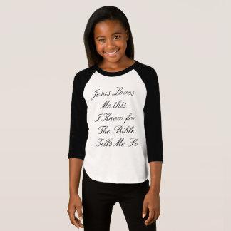 Camiseta Jesús me ama