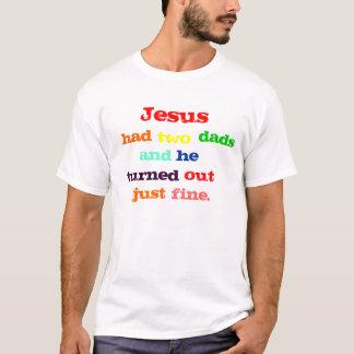 Camiseta Jesús tenía dos papás