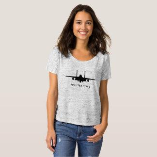 Camiseta Jet de Eagle de la huelga de la esposa del