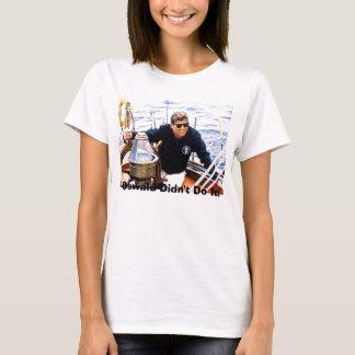 Camiseta jfk-manofsea-sailing-maine-8-12-62, Oswald Didn…