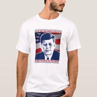 Camiseta JFK preguntan no lo que puede hacer su país para