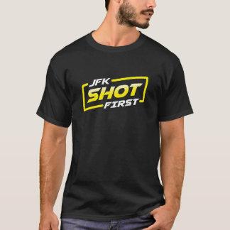 Camiseta JFK tirado primero