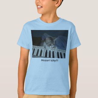 Camiseta ¡jfu 254, gatito de Mozart! ¡, Gatito de Mozart!!!