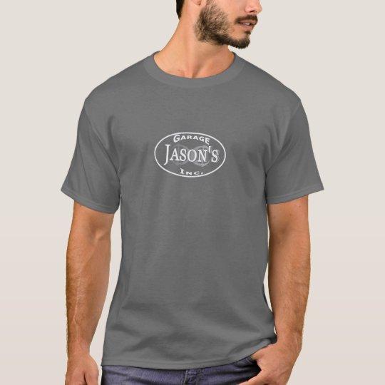Camiseta JGI T con mantra de la tienda en la parte