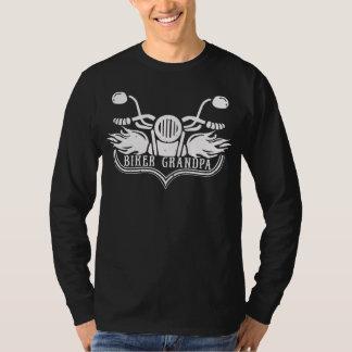 Camiseta Jinete de la motocicleta del abuelo del motorista