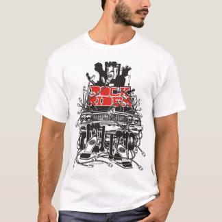 Camiseta Jinete de la roca (rojo-negro)