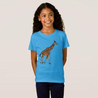 Camiseta Jirafa del dibujo animado