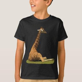 Camiseta Jirafa en hierba