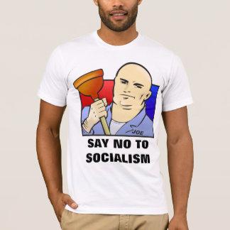 Camiseta Joe el fontanero - DIGA NO al SOCIALISMO