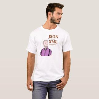 Camiseta JSON es apenas XML para los inconformistas