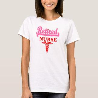 Camiseta jubilada de la enfermera