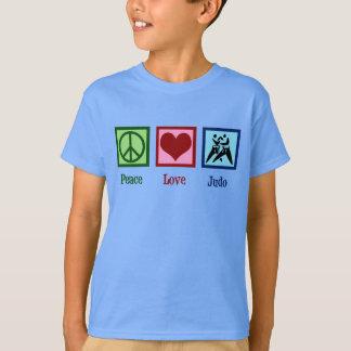 Camiseta Judo del amor de la paz