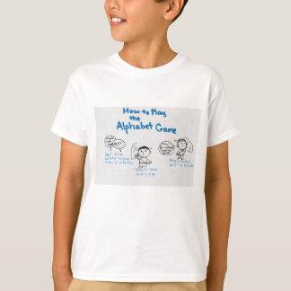 Camiseta Juego del alfabeto