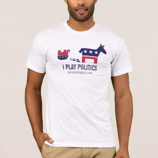 Camiseta Juego política: Estruendo político