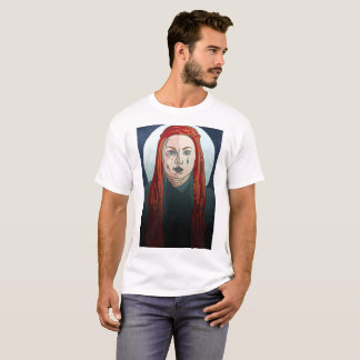 Camiseta Juego rígido de Sansa de tronos