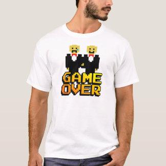 """Camiseta """"Juego sobre"""" la boda (gay, de 8 bits)"""