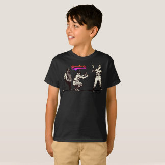 Camiseta Jugador de béisbol en el palo