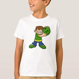 Camiseta Jugador de bolos tonto del muchacho