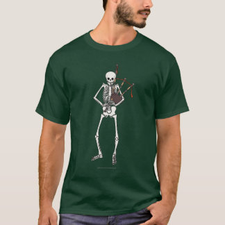 Camiseta Jugador esquelético de la gaita