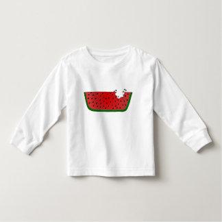 Camiseta jugosa de la sandía