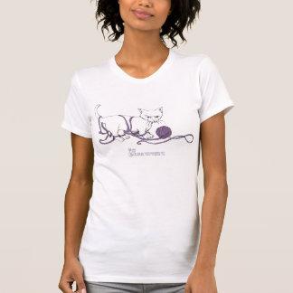 Camiseta juguetona de la cucharada de las señoras