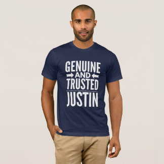 Camiseta Justin auténtico y de confianza